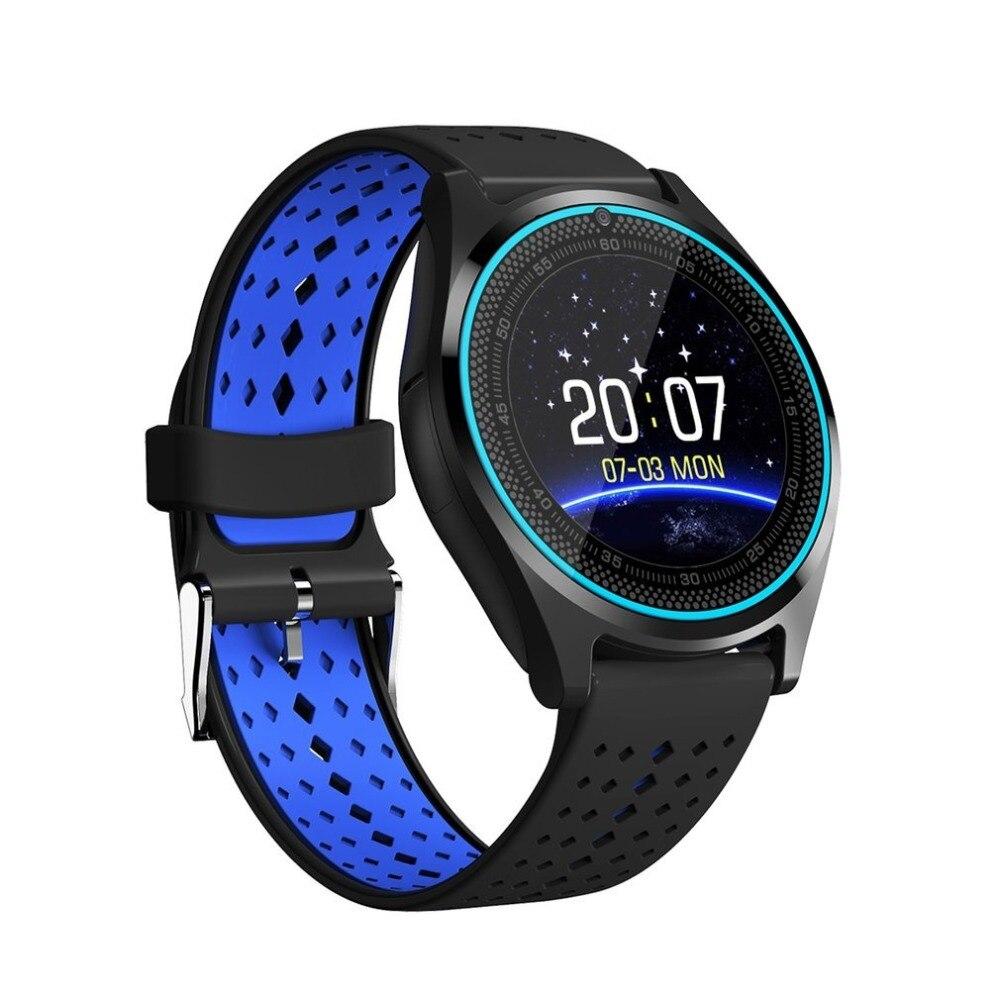 V9 380mAh 1.22 Inch 240x240 Screen Smart Watch Remote Camera Smart Band Sports Recording Wristwatch Support Micro SIM Card