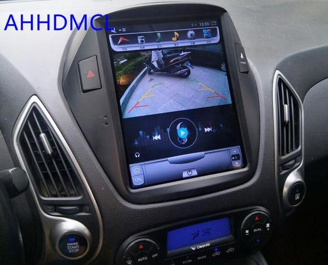 ПК автомобиля PAD Тесла Стиль мультимедийный плеер Android 7,1 gps для hyundai Tucson iX35 iX 2009 2010 2011 2012 2013 2014
