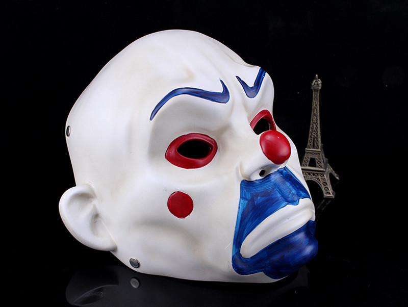 High Quality Resin Clown Mask Halloween Christmas Cosplay Costume Party Mask Movie Theme Jack Napier Batman Joker Masks11