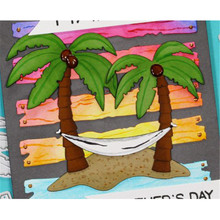 YaMinSanNiO Palm Trees Dies Beach Holiday Metal Cutting for Scrapbooking Card Making DIY Embossing Craft New 2019 Die Cuts