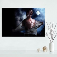 Creative Teen Wolf Patterned Canvas Poster for Home Decor
