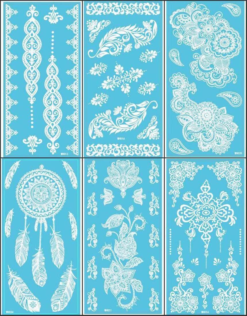 online kaufen gro handel schmetterling henna designs aus. Black Bedroom Furniture Sets. Home Design Ideas