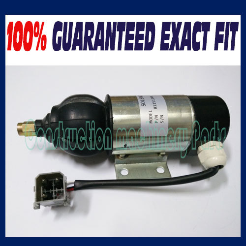 Fuel Shutdown Solenoid 81151144,872805,1318039,1318042 28V for PERKINS, VOLVO PENTA 3924450 2001es 12 fuel shutdown solenoid valve for cummins hitachi