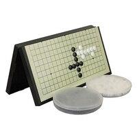 Black And White Foldable Board Gomoku Gobang Chess Game Magnetic Travel Portable Baduk Magnetic Chess Sets
