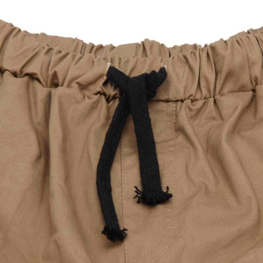 メンズカジュアル夏ファッションタイドウェイレジャー男性服カジュアルジョガーパンツホット販売フルファッションパンツ kargo pantolon # g6