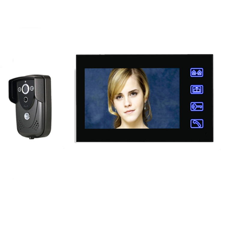 Touch Panel 7 Inch Intercom Video Door Phone
