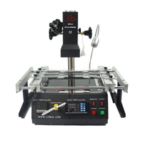 LY IR6500 V.2 BGA repair rework solder station 2 zones infrared 2300W PC410 software control usb connect with computer