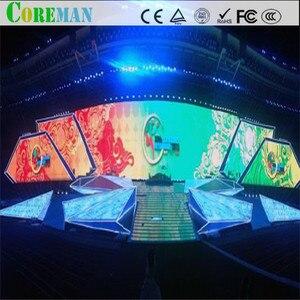 Image 4 - 64*64 точки p2.5 Светодиодная панель 160x160 светодиодный дисплей модуль p2 светодиодный шкаф p2 рекламный сценический светодиодный дисплей экран модуль