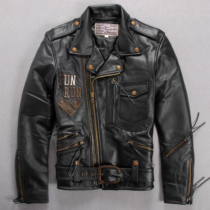 Avirex Leather Bomber Jacket Promotion-Shop for Promotional Avirex ...