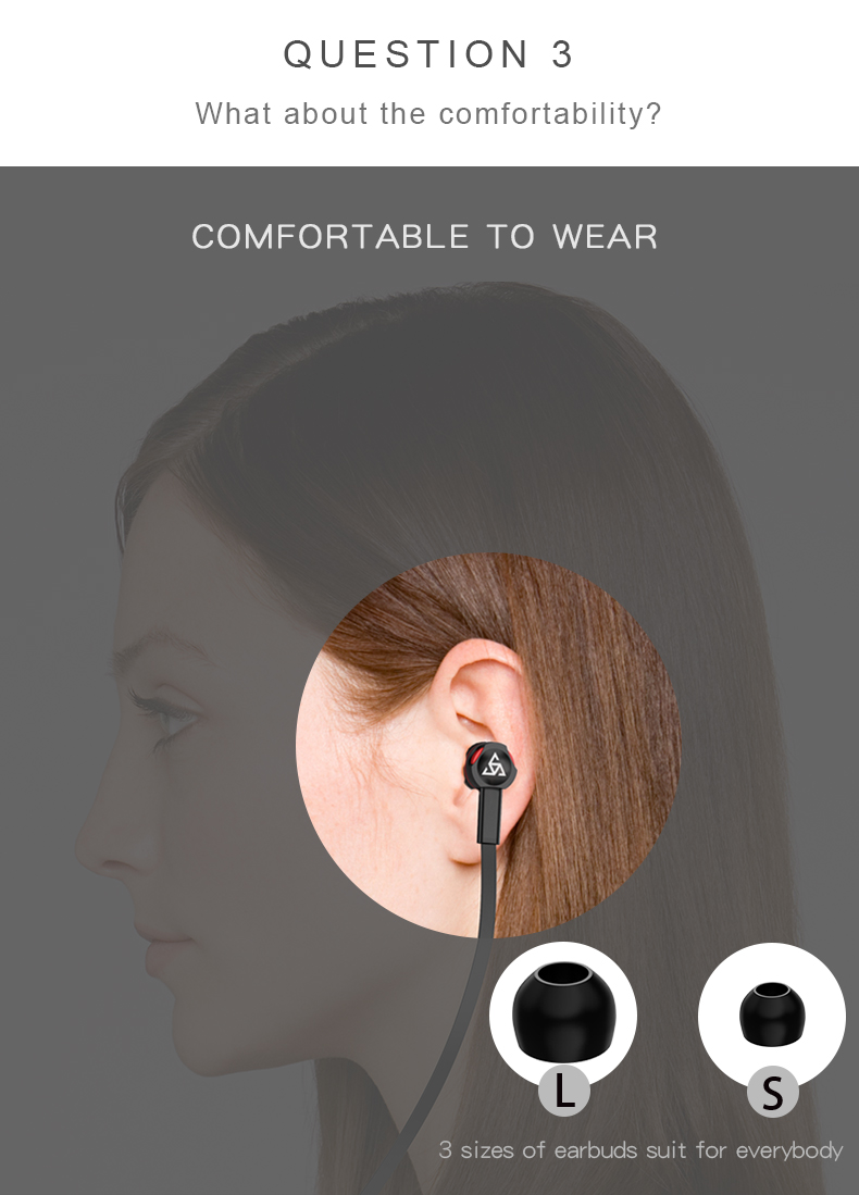 Musttrue Professional Earphone Super Bass Headset with Microphone Stereo Earbuds for Mobile Phone Samsung Xiaomi  fone de ouvido-in Phone Earphones & Headphones from Consumer Electronics on Aliexpress.com | Alibaba Group 8