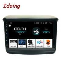 "Iding 9 ""4G + 64G 2.5D para Mitsubishi Pajero Sport 2013 Radio para coche reproductor de vídeo Multimedia navegación GPS accesorios sedán NO DVD"