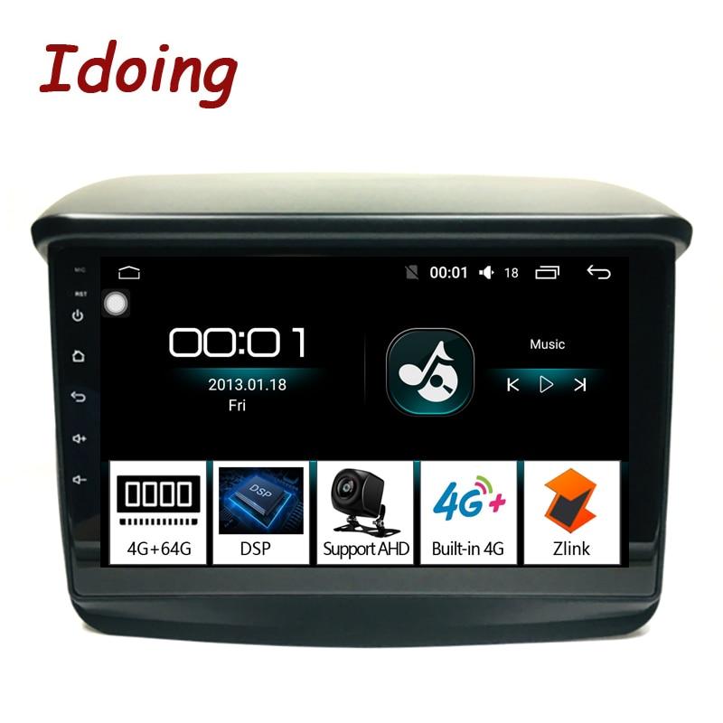 Imaking 9 4G + 64G 2.5D pour Mitsubishi Pajero Sport 2013 autoradio multimédia lecteur vidéo Navigation GPS accessoires berline pas de DVD