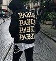 Страх божий мужская новый руно капюшоном yeezy пабло Жизни Пабло Kanye West Yeezy Я Жизнь Пабло Kanye тянуть off