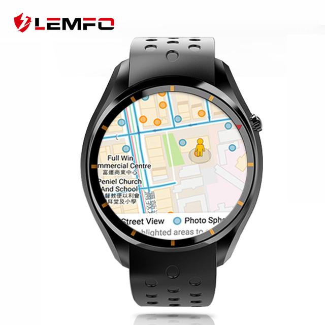 Lemfo I3 Android 5.1 OS Smart Watch Phone MTK6580 512 МБ + 4 ГБ 1.39 дюймов экран поддержка СИМ-карты Bluetooth WIFI GPS Smartwatch