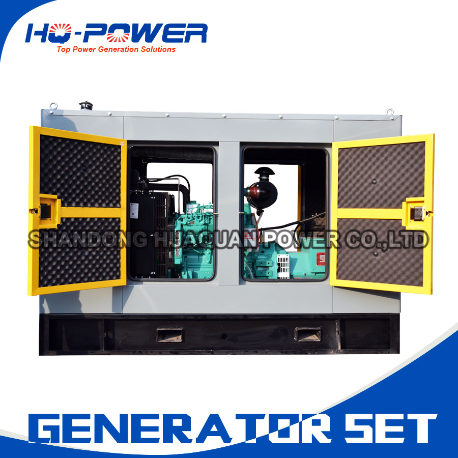 40kw 50kva Silent Canopy Diesel Generator Small Home Use Generating