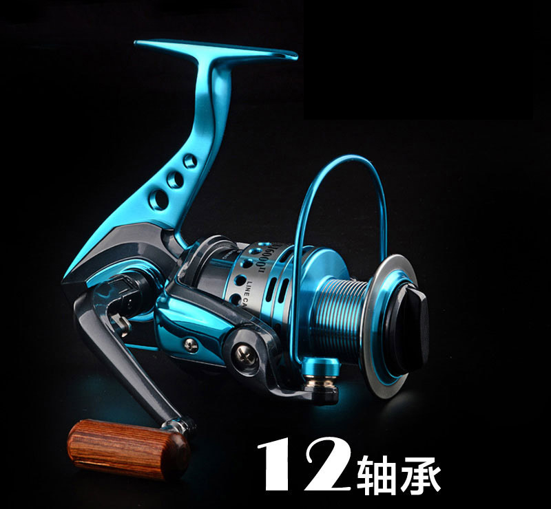 14BB Deep line cup Spinning Fishing Reel Low gear ratio 5.5:1/4.9:1 All Metal Fishing Wheel for sea fishing rods 014#