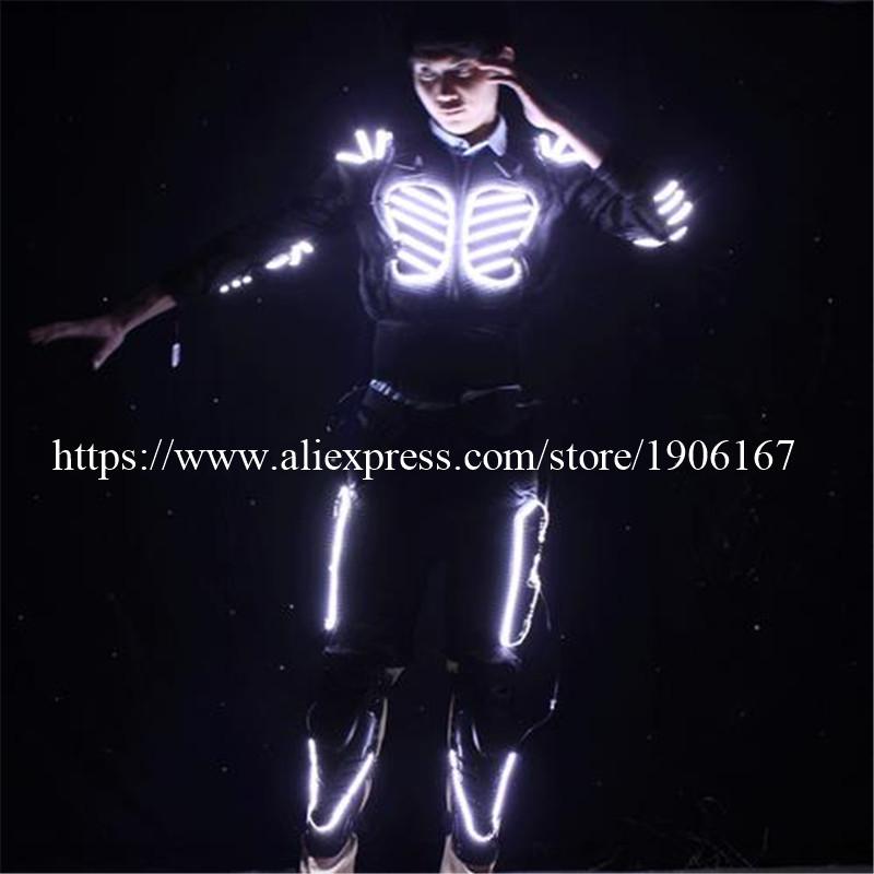 LED Costume LED Clothing Light suits LED Robot suits david robot07