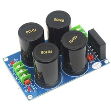 1pcs NOVER 10000uf/50V*4 35A Audio Power Supply Amplifier Board Diode Rectifier недорго, оригинальная цена