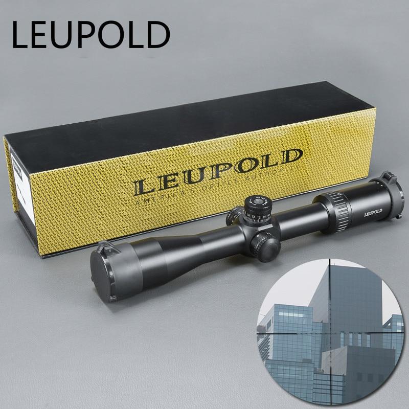 Leupold 3.5-15x40 Sfy Marque Fusil de Chasse de Vue Miroir Point Éclairage Côté Roue Monoculaire Collimateur Optique Chasse