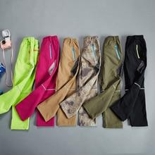 Boys & Girls Waterproof Windproof Plus Velvet Warm Pants 2019 New Children's Clothing Casual Patchwork 120-170 Pants