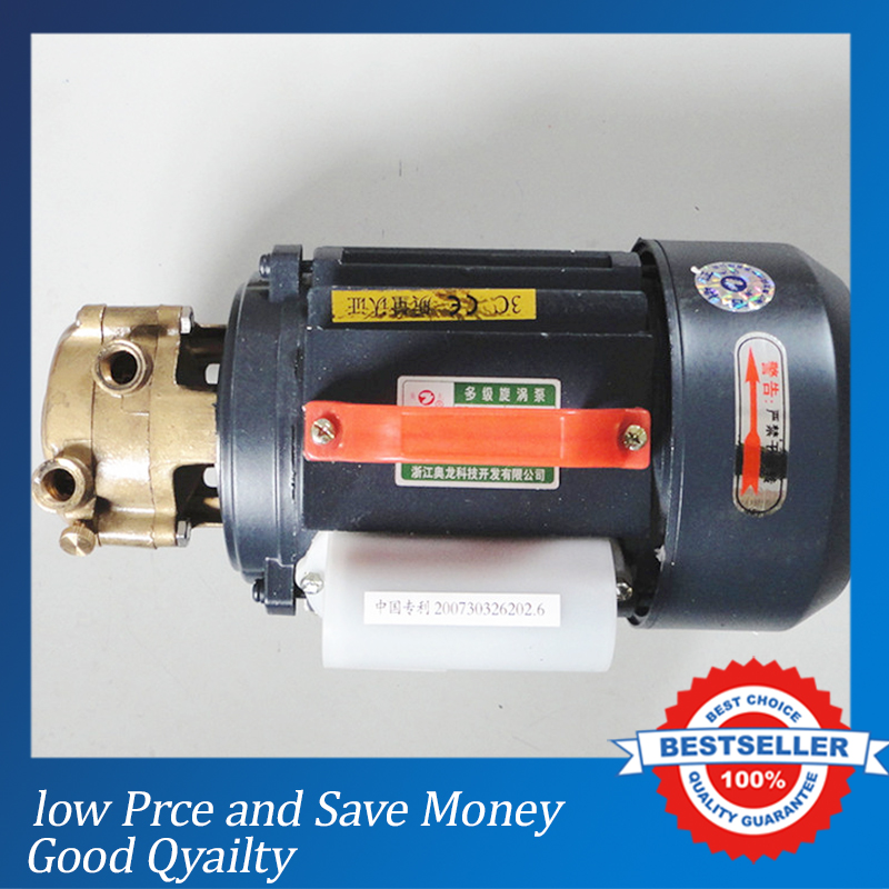 220V Cast Iron Self Suction Centrifugal Pump Home Use Booster Pump 1ZDB-45 контактные линзы johnsonjohnson 1 day acuvue trueye 90 шт r 8 5 d 10 0