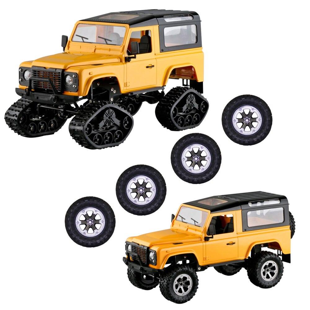Снежная земля 2,4 ГГц 4WD пульт дистанционного управления s детская игрушка детский подарок высокоскоростная трек игрушка ABS Вал привод гоночные хобби Дистанционное управление автомобиль - Цвет: yellow