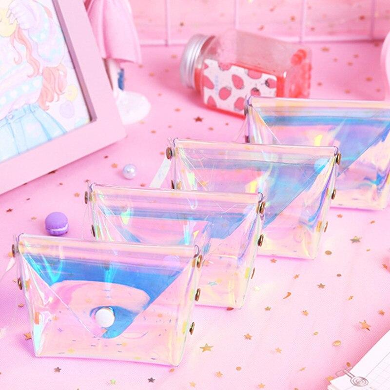 Wedding Gift Ideas For Kids: Transparent PVC Coin Purse Key Card Holder Souvenirs