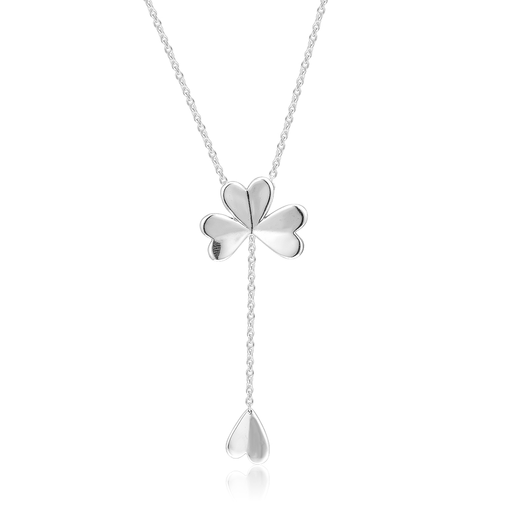 Sterling Silver Girls .8mm Box Chain 3D Crystal Street Lamp Hanging Light Pendant Necklace