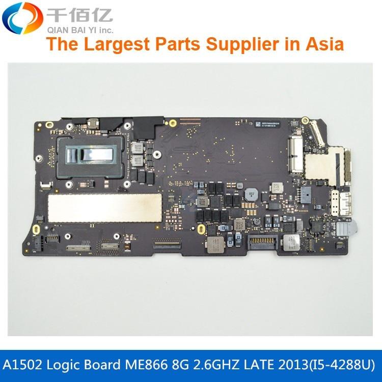 Laptop Mother board A1502 Logic board For MacBook Pro Retina 13 MF839 2.7GHZ 8G i5-5257U Early 2015Laptop Mother board A1502 Logic board For MacBook Pro Retina 13 MF839 2.7GHZ 8G i5-5257U Early 2015