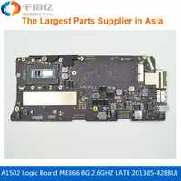 Laptop Mother board A1502 Logic board For MacBook Pro Retina 13' MF839 2.7GHZ 8G i5-5257U Early 2015