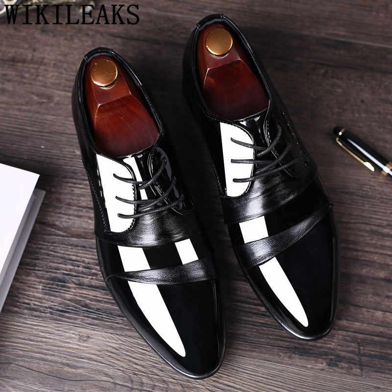 2019 итальянские официальные Туфли Мужские модельные туфли кожаные свадебные туфли мужские оксфорды для мужчин офисные кожаные туфли sapatos italianos
