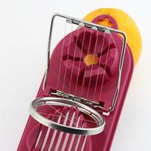 1 шт. Многофункциональный резак для яиц из нержавеющей стали, нож для резки яиц, аксессуары для кухни, приспособления для нарезки, инструменты для приготовления пищи