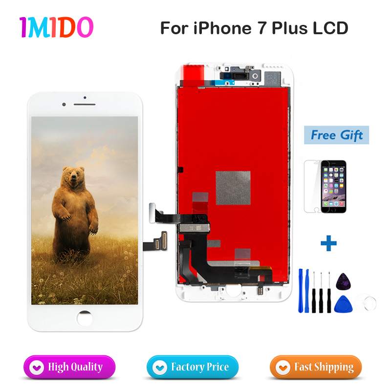 huge selection of 35211 b6cff 2 PC LCD For Apple iPhone 7 Plus LCD Display Touch Screen Digitizer  Assembly No Dead Pixel Complete Replacement Fast shipping-in Mobile Phone  LCDs ...