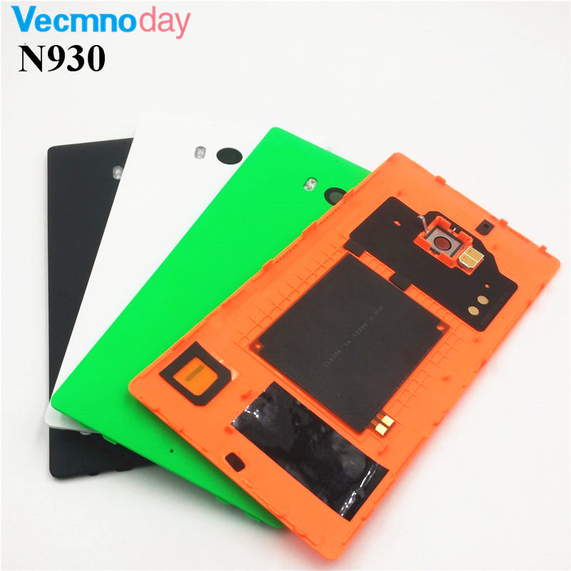 Vecmnoday Housing For Nokia lumia 930 Back Cover Battery Cover For Nokia lumia 930 with NFC and wireless charging part