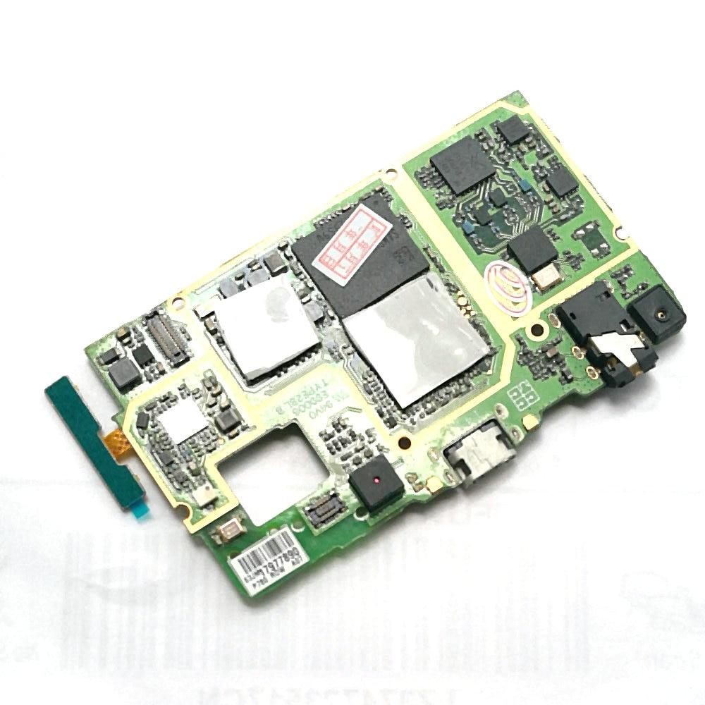 Utilisé la carte mère carte mère conseil + volume up/down bouton flex câble pour Lenovo p780 téléphone portable 8 GB ROM soutenir La Russie langue