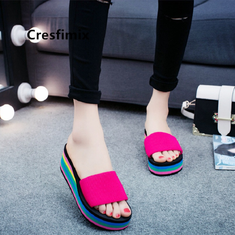 Cresfimix zapatillas de mujer women cute ribbon spring slip on slippers lady casual home & outside slippers cute slippers a5245Cresfimix zapatillas de mujer women cute ribbon spring slip on slippers lady casual home & outside slippers cute slippers a5245