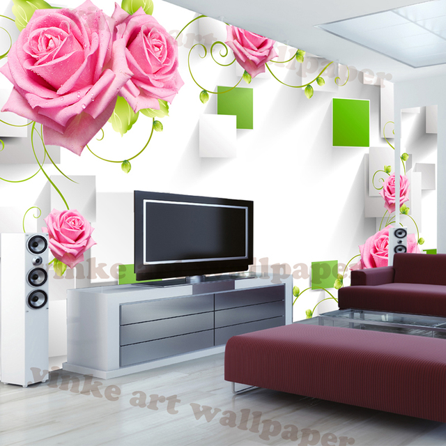 Living Room Background aliexpress : buy personalized customization 3d wallpapers