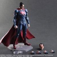 PLAY ARTS KAI The First Avenger Superhero Marvel Heros Captain America Juguetes PVC Action Figure Collectible