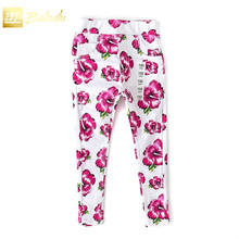 New summer girls fashion leisure trousers thin printing all-match style special offer on sale
