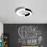 Creative ceiling lights Simple Modern Atmosphere led lamp living room warm romantic wrought iron bedroom ceiling lamp TA92010