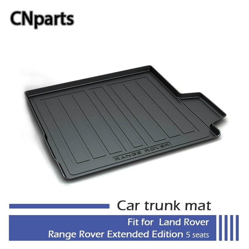 Tapis de coffre de voiture CNparts pour Land Rover Range Rover Executive édition prolongée 5 sièges 2013 2014 2015 2016 2017 accessoires