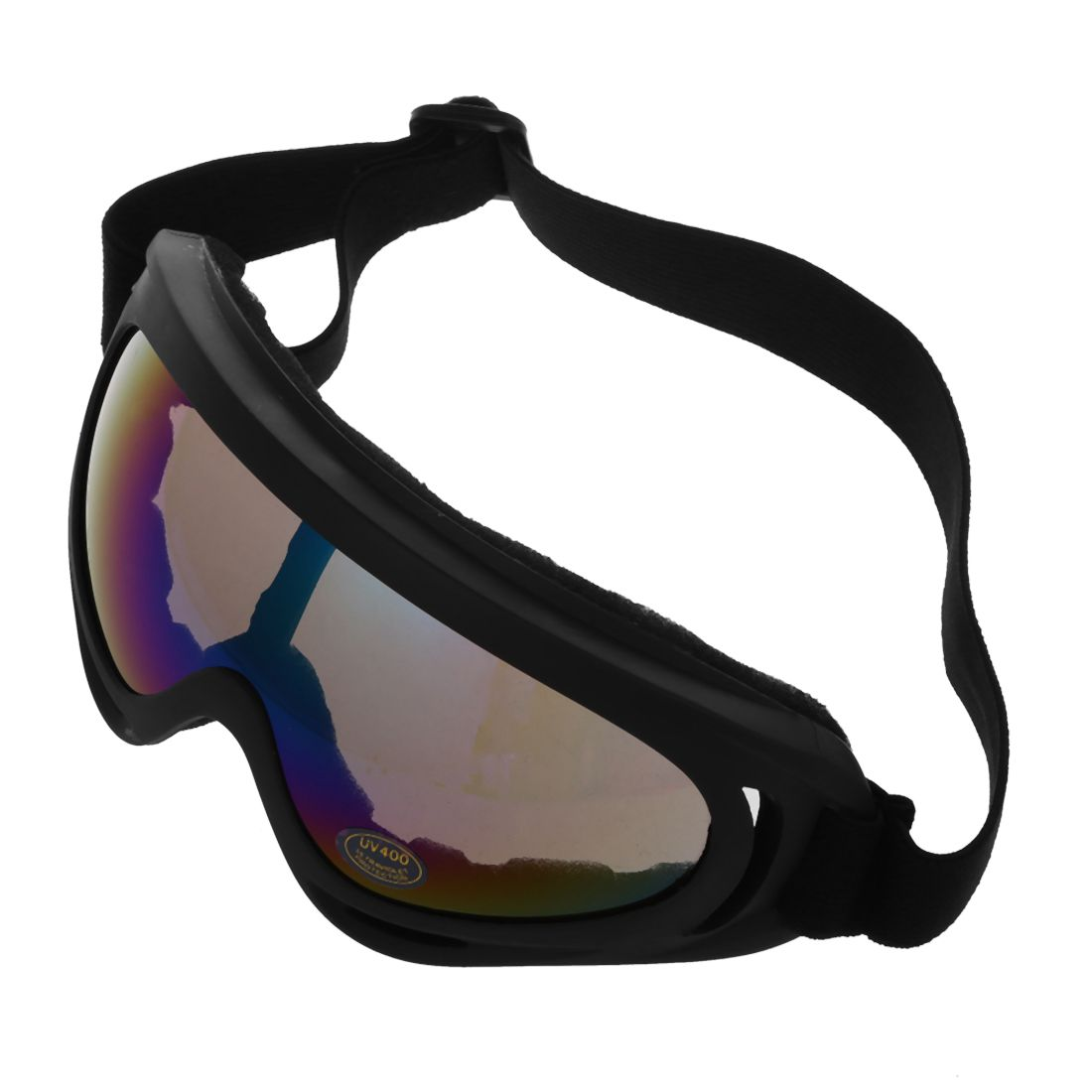 5Set Sale Skiing Eyewear Adult Motocross Motorcycle Dirt Bike ATV MX Off-Road Goggles Multicolour Lens with Black Frame