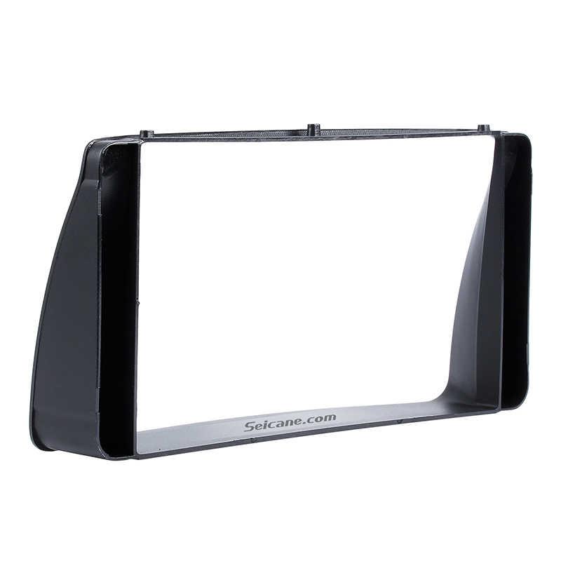 Seicane 2Din Car Radio Fascia Stereo Frame Indash CD Player Plate Panel Trim Mount Kit For 2003 2004 2005 2006 Toyota Corolla