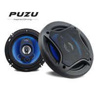 2019 Hot Sales PUZU 2pcs 6.5Inch 180W 3 Way Full Range Frequency Hifi Vehicle SpeakerLoudspeaker Coaxial Speakers Horn Audio