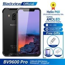 Blackview BV9600 Pro IP68 Su Geçirmez Cep Telefonu Helio P60 6 GB + 128 GB 6.21