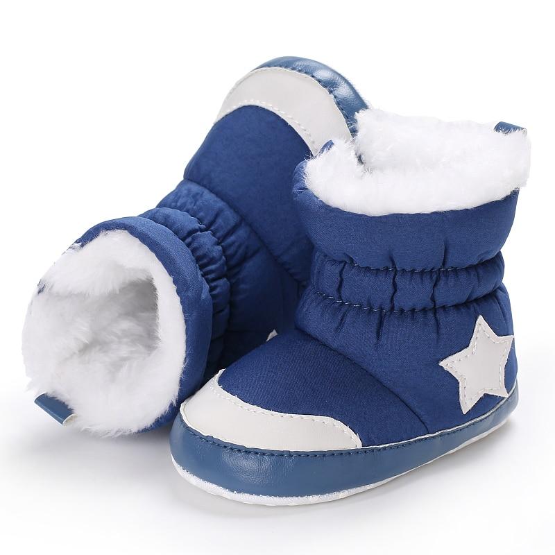 Buty zimowe Moda Soft Bottom Baby Mokasyny Baby First Walkers Baby - Buty dziecięce - Zdjęcie 2