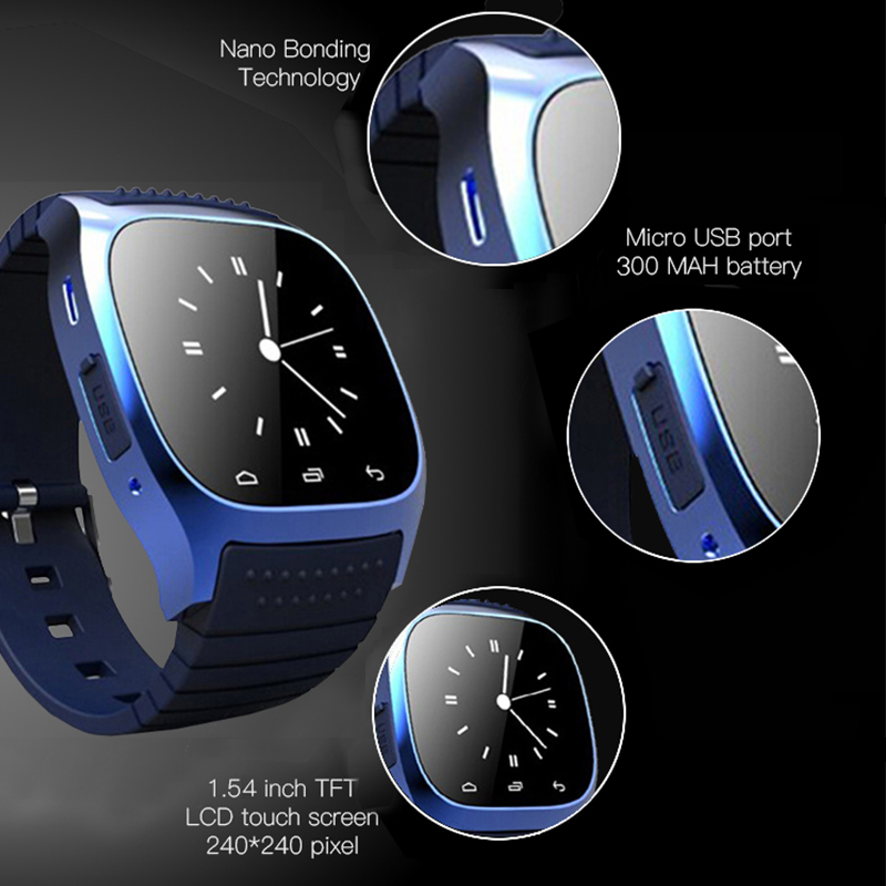 Image 3 - Newest Smart Watch Bluetooth Android Watches Fitness Tracker Wristwatch Smartwatch  for Android Mobile Phones Wearable Devices-in Smart Watches from Consumer Electronics