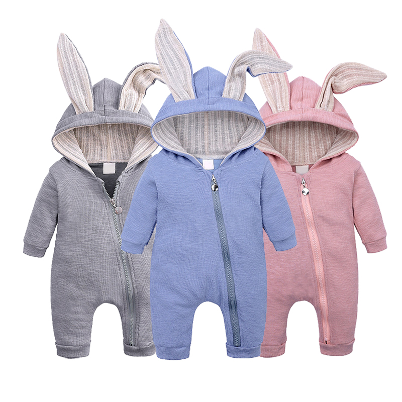 Fashion Baby   Romper   Girls Clothes Newborn Baby Clothes Infant Jumpsuit Baby Costume Cartoon Baby Boy   Romper   Zipper Outfits Bebes
