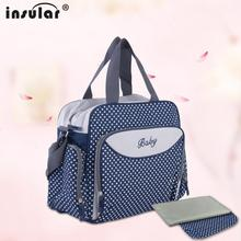 New Arrival Shipping Free Multifunctional 600D Baby Diaper Bags Nappy Bags Waterproof Large Capacity Mommy Bag Changing Bag