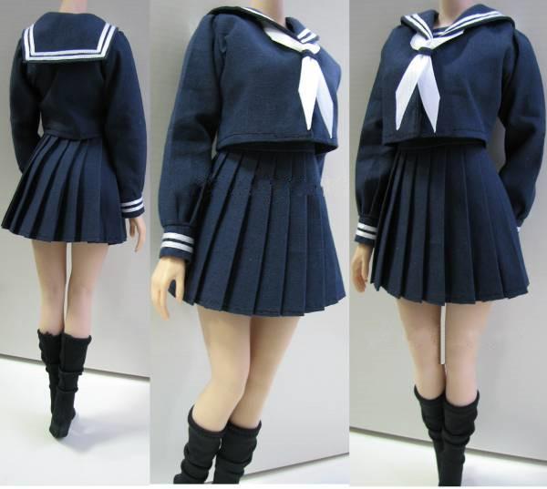 Estartek 1 6 Sexy Japanese School Girl S Uniform Suit 1 6 Female